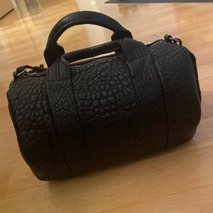 Alexander Wang Large Rocco Bag in Pebble Leather